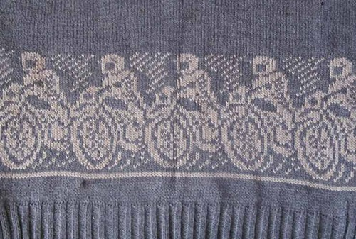 Мотоциклисты однофонтурный жккард