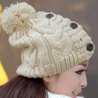 украшение шапочки бусинами