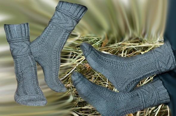 как связать спицами носки глэдис описание вязания и схемы узоров