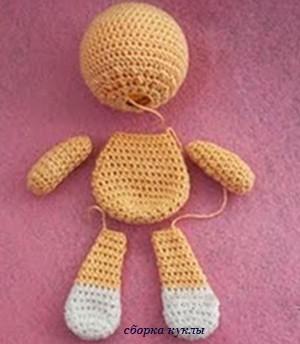 сборка куклы Йока