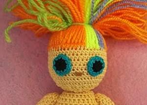 делаем ушки кукле