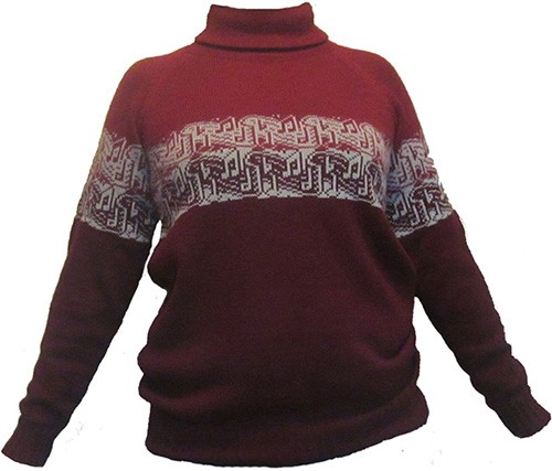 свитер с нотками