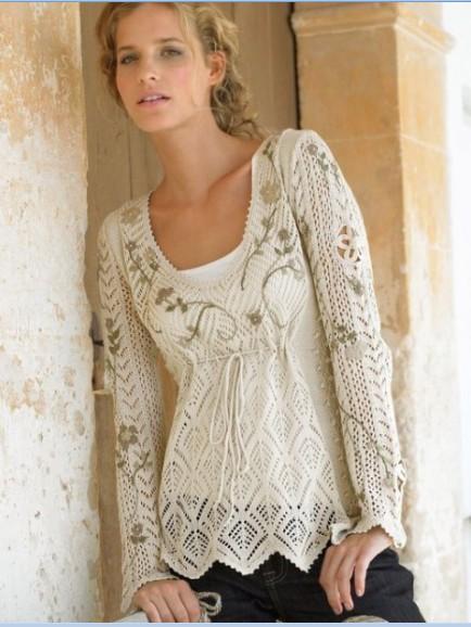 Вязание спицами - это не только красивая вязаная одежда, но так же и удовольствие от творчества
