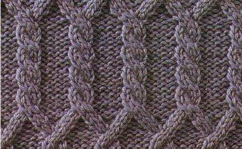 Араны в копилку узоров спицами - добавляем схемы