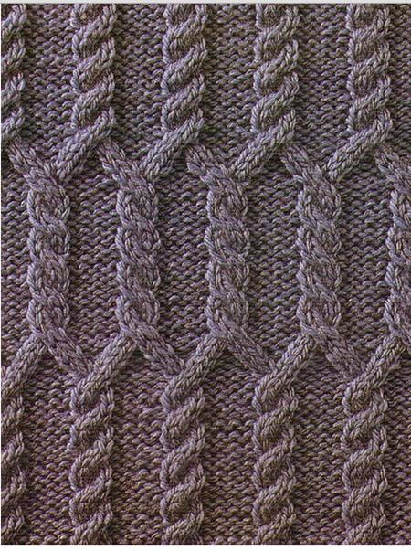 Вязание спицами - араны в копилку
