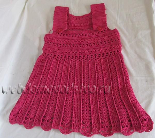 платье сарафанчик крючком