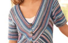 летняя блуза с рукавами