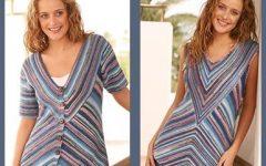 Две летние блузы из Дропс вязание на русском