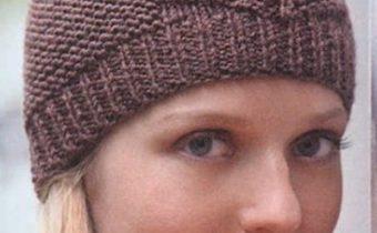 Как вязать женскую шапочку спицами - подробное описание