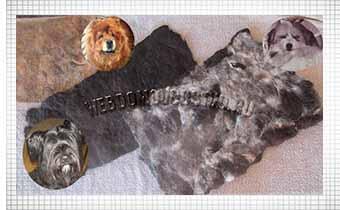 из чьей шерсти сделан собачий пояс