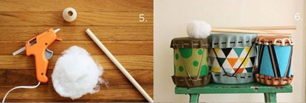 Барабан своими руками для детского сада: почти настоящий