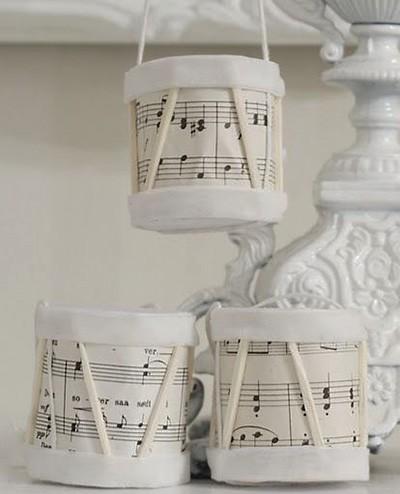 барабан своими руками для декорирования помещения