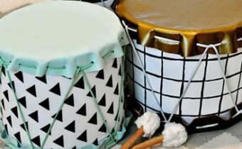 барабаны своими руками из банок
