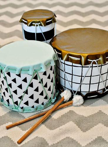 Как сделать детский барабан