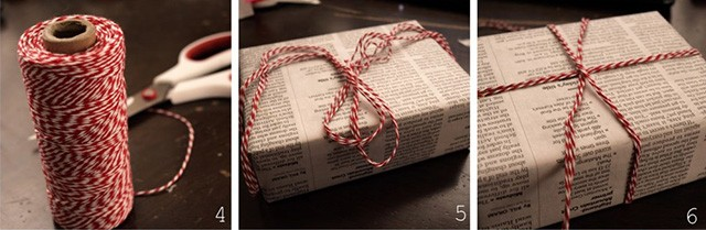 2 часть пошагового руководства упаковка подарка