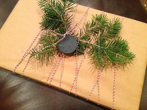 как упаковать красиво плоский подарок
