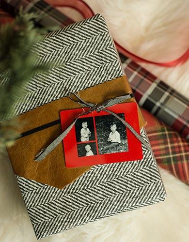 бумага под твид с фото для упаковки подарка