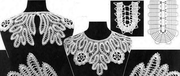 вязание крючком летние платья и сарафаны схемы тесьмы для пелерины