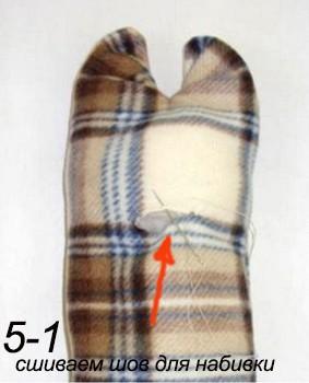 зашиваем шов
