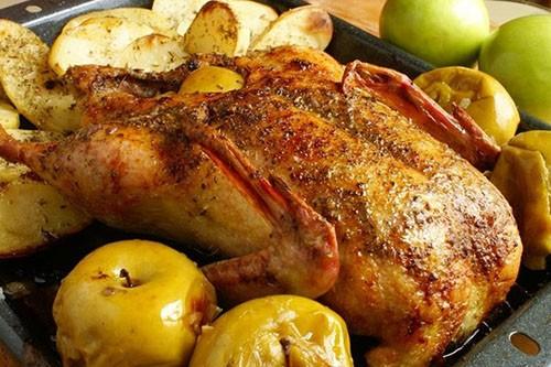 Утка с яблоками в духовке пошаговый рецепт с и медом