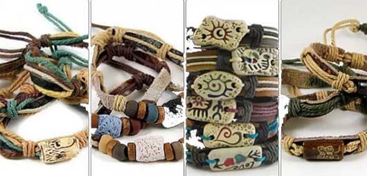 браслеты-амулеты и декоративные простые браслеты