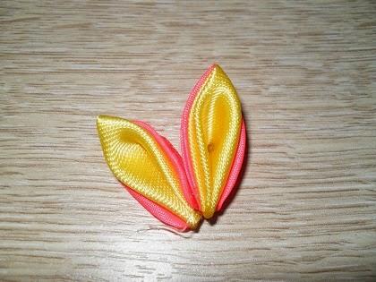 мастер класс канзанши цветок для заколки-13