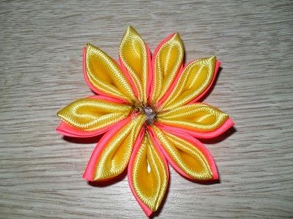 мастер класс канзанши цветок для заколки-14