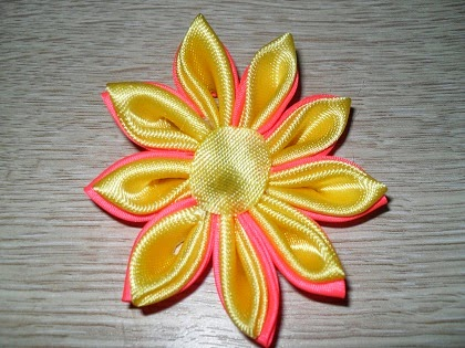 мастер класс канзанши цветок для заколки-16