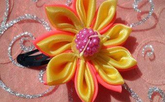 готовый цветок канзанши