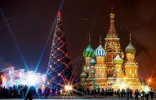 Новогодняя Елка на Красной Площади в Москве