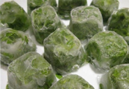 замороженный листовой салат