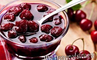 жидкое варенье-сироп из вишни на зиму