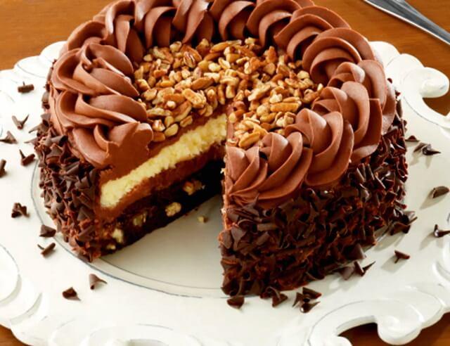 шоколадный заварной крем для торта