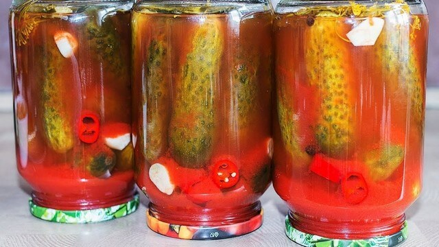 Маринованные на зиму огурцы: рецепты в заливке без соли