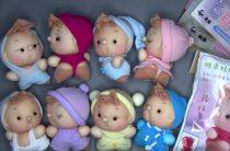 Японские пупсы из капроновых носок видео и фото игрушек
