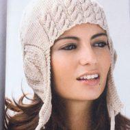 Вязаная шапка женская спицами схема и описание