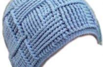 Вязаная шапочка для мальчика крючком: описание вязания